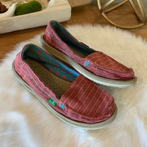 Sanuk loafers (excellent condition)
